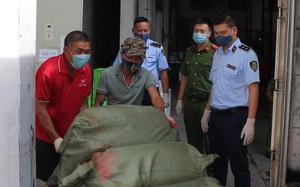 Hà Nội: Tiêu hủy 7 tấn nầm lợn không rõ nguồn gốc trị giá 2,1 tỷ đồng