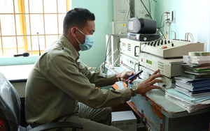 Hệ thống loa phát thanh phát huy hiệu quả trong tuyên truyền bầu cử, phòng dịch Covid-19