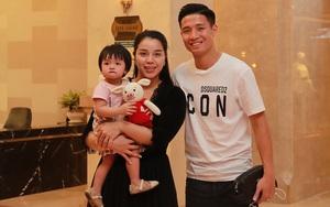 Vừa tập trung ĐT Việt Nam, Bùi Tiến Dũng đã nhận tin vui từ vợ xinh