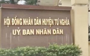Quảng Ngãi: Huyện quên quy định vẫn thi công dự án trường 10 tỷ chưa đủ điều kiện?