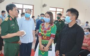 Tướng Phan Văn Giang cam kết góp sức phát triển kinh tế - xã hội vùng Trung du Bắc Bộ