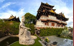 Tu viện Khánh An mang phong cách chùa Việt cổ giữa Sài Gòn, trụ trì đầu tiên là một nhà sư yêu nước