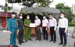 Đà Nẵng: Ngân hàng Chính sách xã hội tiếp sức cho các đơn vị tuyến đầu phòng chống dịch Covid-19