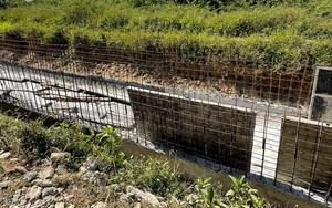 Quảng Ngãi: Liên danh nhà thầu thi công Kênh N6 gian lận kích cỡ sắt thép