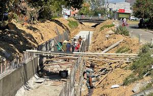 """Quảng Ngãi: Nguy cơ dự án Kênh N6 bị cắt vốn vì thi công """"rùa bò"""""""