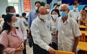 """Chủ tịch nước Nguyễn Xuân Phúc: """"Không chỉ phát triển kinh tế, phải quan tâm phúc lợi cho người dân"""""""