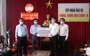 Tập đoàn EVN trao tặng tiền ủng hộ Đà Nẵng chống dịch Covid-19