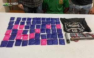 Bắt giữ đối tượng người Lào tàng trữ trái phép 12.000 viên ma túy tổng hợp