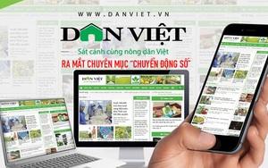 """Báo điện tử Dân Việt ra mắt chuyên mục """"Chuyển động số"""""""