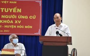 """Chủ tịch nước Nguyễn Xuân Phúc: """"Đừng để người dân ra đường sợ không an toàn giao thông, về nhà sợ trộm cắp"""""""