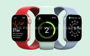 Watch Series 7 sẽ có thiết kế vuông vắn hơn, sử dụng tấm nền OLED