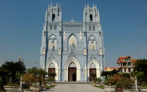 Nam Định: Chiêm ngưỡng nét độc đáo kiến trúc của Vương cung Thánh đường lớn nhất Đông Nam Á