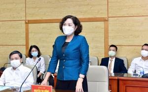 Thống đốc Nguyễn Thị Hồng: Ngành ngân hàng đã dành 500 tỷ hỗ trợ phòng chống Covid-19