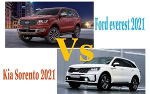 Ford Everest 2021 mạnh mẽ, đọ công nghệ với Kia Sorento