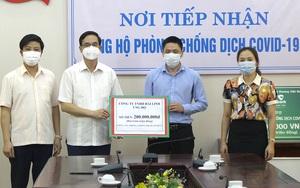 Phú Thọ: Tiếp nhận gần 40 tỷ đồng ủng hộ phòng chống Covid-19