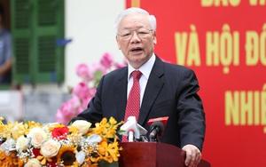 """Tổng Bí thư Nguyễn Phú Trọng: """"Đại biểu của dân phải thường xuyên tu dưỡng, rèn luyện"""""""
