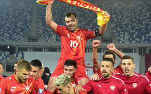 """EURO 2020: Bắc Macedonia dệt mộng """"chiến binh"""""""