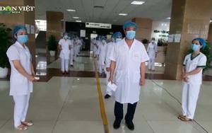 Công tác bầu cử diễn ra an toàn tại khu cách ly của Bệnh viện K và Bệnh viện Nhiệt đới Trung ương
