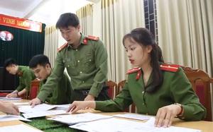 Sơn La: Theo chân nữ thiếu úy xinh đẹp chạy nước rút chiến dịch cấp thẻ căn cước công dân