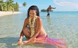 """Đảo san hô Teti'aroa nổi tiếng với nghi thức """"vỗ béo"""" thiếu nữ, tôn vinh vẻ đẹp tròn trịa"""