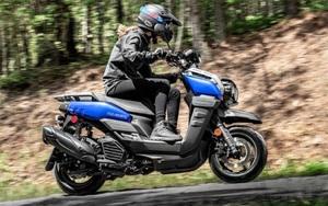 Yamaha Zuma 125 2022 - mẫu xe phượt nhỏ gọn thu hút sự chú ý