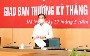 """Chủ tịch Hà Nội """"điểm"""" lại 1 tháng vất vả căng sức chống dịch và thực hiện mục tiêu kép"""