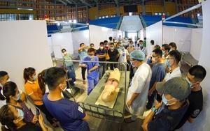 Hình ảnh bên trong bệnh viện dã chiến hơn 600 giường ở Bắc Giang