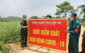 Phú Thọ: Dỡ phong tỏa 2 khu dân cư tại xã Kim Đức
