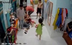 CLIP: Đang ở nhà, người phụ nữ góa chồng bị hai người đàn ông xông vào đánh đập dã man