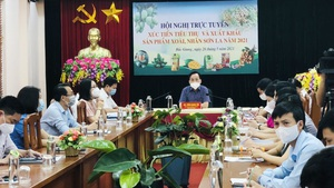 Đàm phán với Trung Quốc đưa nông sản Sơn La lên sàn thương mại điện tử