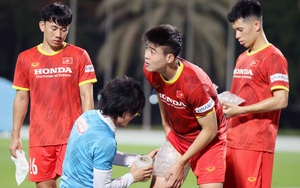 ĐT Việt Nam tại UAE: 3 tuyển thủ phải tập riêng