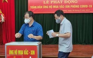 Hải Dương: Phát động toàn dân ủng hộ mua vaccine tiêm phòng Covid-19