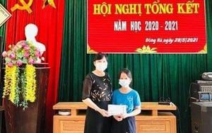 Quảng Trị: Nữ sinh lớp 5 dùng toàn bộ phần thưởng ủng hộ y, bác sĩ ở Bắc Giang