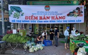 Hoà Bình: Hội Nông dân chung tay kêu gọi giải cứu và tiêu thụ nông sản giúp nông dân