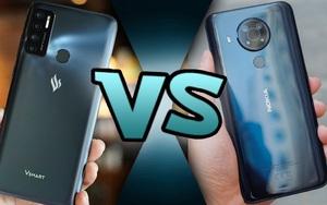 Nokia 5.4 đấu Vsmart Live 4: Đâu là ông vua phân khúc giá rẻ