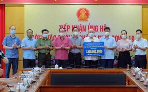 Thái Nguyên: Tiếp nhận gần 13,5 tỷ đồng phòng, chống dịch Covid-19