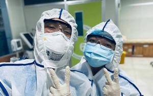 Nắng nóng, nhiều sinh viên tham gia chống dịch Covid-19 ở Bắc Giang đã ngất xỉu