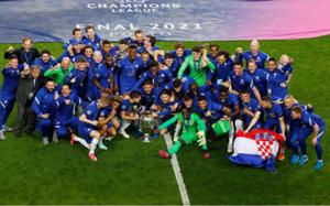 CHÙM ẢNH: Chelsea vỡ òa đăng quang Champions League