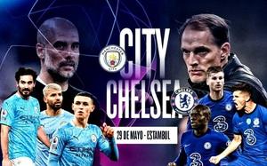 Xem trực tiếp Man City vs Chelsea trên kênh nào?