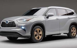 Toyota Highlander 2022 phiên bản mới sở hữu thiết kế mạnh mẽ hơn