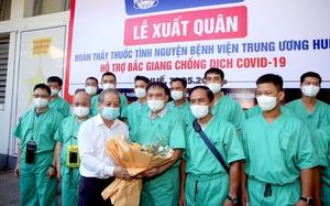 """Đoàn thầy thuốc Huế hỗ trợ Bắc Giang chống dịch: """"Thời điểm này người dân cần chúng tôi nhất"""""""