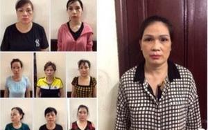 Bắt 12 phụ nữ trong đường dây tổ chức cờ bạc tiền tỷ/ngày