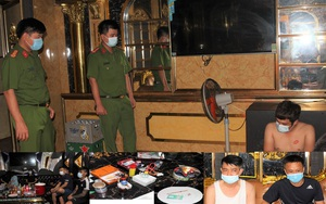 Hà Nam: 15 thanh niên bay lắc ở quán karaoke giữa dịch Covid-19