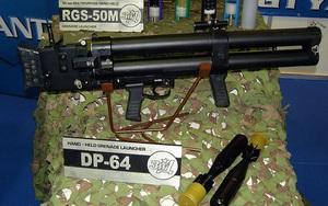 Hải quân Việt Nam sở hữu súng phóng lựu hai nòng cực độc DP-64?