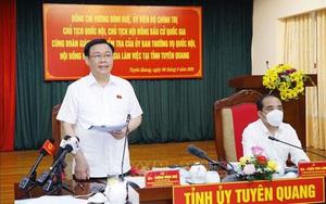 Chủ tịch Quốc hội Vương Đình Huệ: Không để mỗi điểm bỏ phiếu thành nơi lây nhiễm
