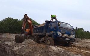 Quảng Trị: Anh ruột chủ tịch xã khai thác đất cát trái phép