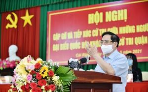 Thủ tướng Phạm Minh Chính tiếp xúc cử tri Cần Thơ