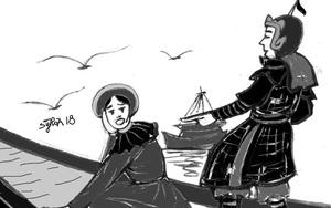 Ngăn chồng tạo phản, công chúa Việt bị xẻo má, phải tự vẫn bi thương