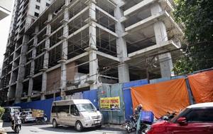 Hà Nội: Cận cảnh dự án chung cư gần 12 năm xây chưa xong