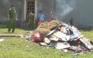 Thái Nguyên: Tiêu hủy gần 4.000 vũ khí, vật liệu nổ, công cụ hỗ trợ